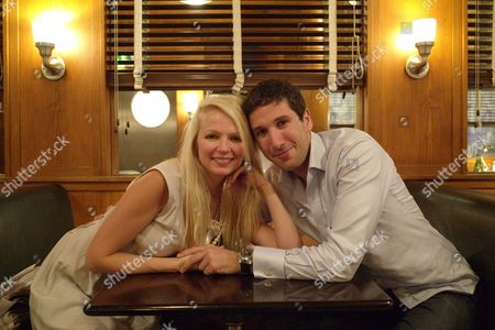 Hannah Sandling & Burno De Verela Celebrate Their 1 Year Anniversary with Lunch at Automat in Dover Street London