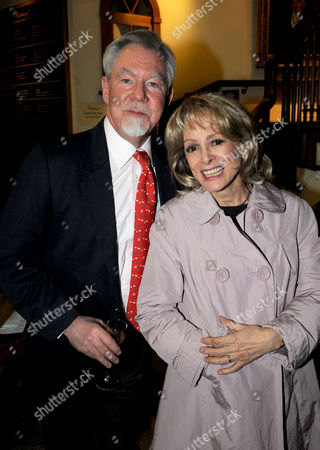 Hatchards Authors of the Year Party at Their Shop in Piccadilly London Richard 7th Earl of Bradford with Claire Francis