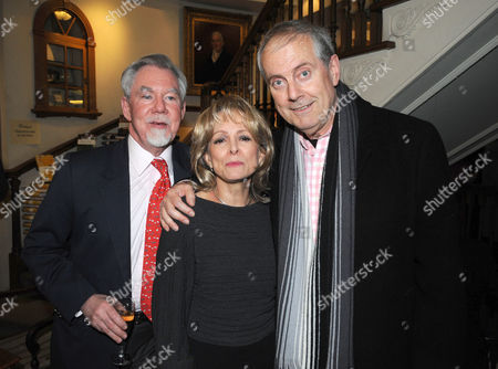 Stock Photo of Hatchards Authors of the Year Party at Their Shop in Piccadilly London Richard 7th Earl of Bradford Claire Francis and Giles Brandreth