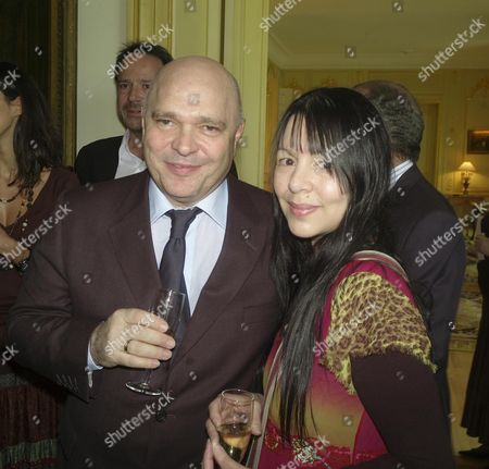 Launch of A Rendez-vous with French Cinema at the Residence De France Kensington Gardens Anthony Minghella with His Wife Carolyn Choa