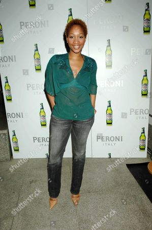 Launch Party For Peroni's New Advertising Campaign at the Design Museum Shad Thames Terri Walker