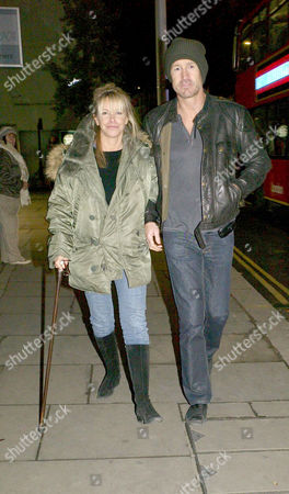 Editorial photo of Leslie Ash with Her Husband Lee Chapman - 30 Oct 2008