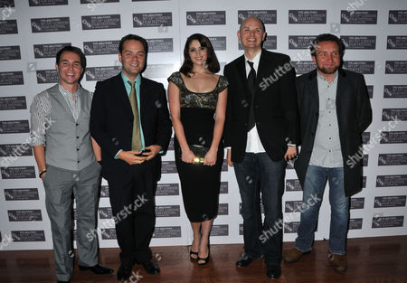 London Film Festival - the Disappearance of Alice Creed at the Vue Cinema Leicester Square Martin Compston Adrian Sturges Gemma Arterton Director J Blakeson and Eddie Marsan