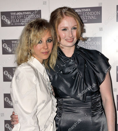 London Film Festival - Screening of 'Cracks' at the Vue Leicester Square Director Jordan Scott Daughter of Ridley Scott with Juno Temple Daughter of Julian Temple