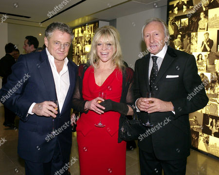 London's 1000 Most Influential People 2009 Launch Party at Burberry Horseferry House Horseferry Road London Carlos Almada Jo Wood & Harold Tillman