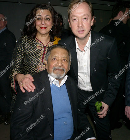 London's 1000 Most Influential People 2009 Launch Party at Burberry Horseferry House Horseferry Road London Vs Naipaul & Geordie Greig