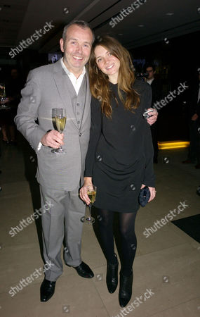 London's 1000 Most Influential People 2009 Launch Party at Burberry Horseferry House Horseferry Road London Piers Adam with His Partner Sophie Vanacore