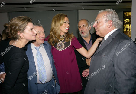London's 1000 Most Influential People 2009 Launch Party at Burberry Horseferry House Horseferry Road London\ Natalie Massenet Heather Kerzner & Sir Philip Green Natalie Massenet Sol Kerzner Heather Kerzner & Sir Philip Green