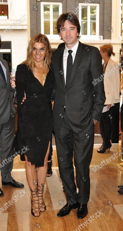 Stock Image of Louis Vuitton New Bond Street Maison Opening Brett Anderson with His Wife Jodie Anderson
