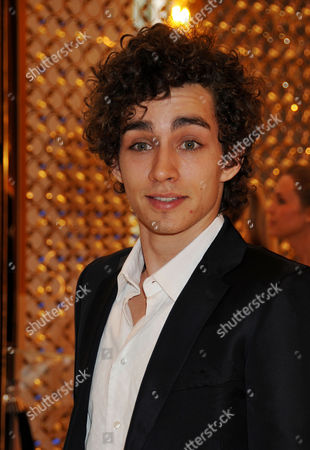 Stock Picture of Louis Vuitton New Bond Street Maison Opening Robbie Sheehan