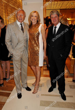 Louis Vuitton New Bond Street Maison Opening Harold Tillman with Sue Whiteley (managing Director of Louis Vuitton in the Uk and Scandinavia) and Yves Carcelle