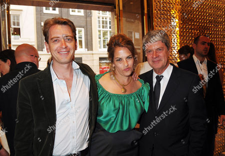 Louis Vuitton New Bond Street Maison Opening Tracey Emin and Scott Douglas with Yves Carcelle