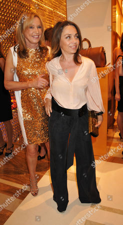 Louis Vuitton New Bond Street Maison Opening Sue Whiteley and Jeanne Marine