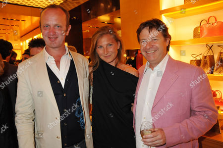 Louis Vuitton New Bond Street Maison Opening Johnnie Shand Kydd Elizabeth Guttman and Danny Moynihan