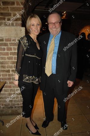 Macmillan Cancer Support's House of Lords & House of Commons Parliamentary Palace of Varieties at St Johns Smith Square - Reception Clair Kerr with Her Father Lord Michael Ancram