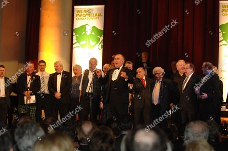 Macmillan Cancer Support's House of Lords and House of Commons Parliamentary Palace of Varieties at St Johns Smith Square - Show Michael Mates Mp Leads the Finale
