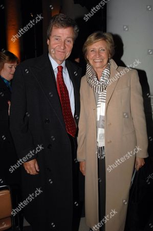 Macmillan Cancer Support's House of Lords and House of Commons Parliamentary Palace of Varieties at St Johns Smith Square - Show Hugh Williams with His Wife Sue Lawley