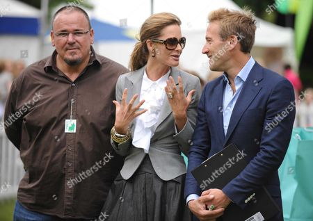 Macmillan Dog Day at the Royal Hospital Chelsea London Stephen Marcus Trinny Woodall (no Wedding Ring) and Ben Fogle
