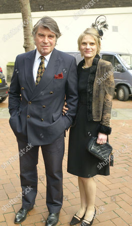 Lunch Memorial Service and Wake For Sir David (dai) Llewellyn at Frantoio Kings Road St Pauls Church Knightsbridge & Pucci's Pizza Kings Road Chelsea Oliver Tobias with His Wife Arabella Zamoyska
