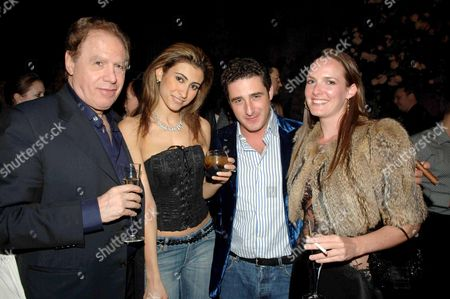 Stock Photo of Moscow in Motion Party at the Old Billingsgate Market Carlo Colombotti Yasmin Mills Luca Del Bono Marisa Hordern