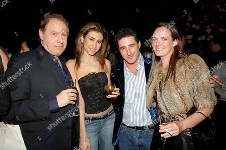 Stock Image of Moscow in Motion Party at the Old Billingsgate Market Carlo Colombotti Yasmin Mills Luca Del Bono Marisa Hordern