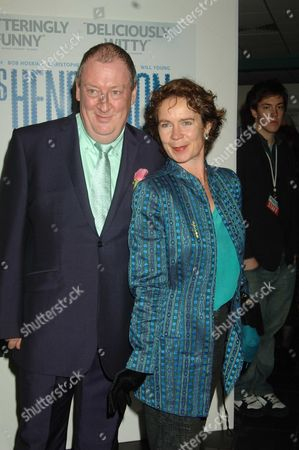 Uk Premiere of Mrs Henderson Presents at the Vue Cinema Leicester Square London Celia Imrie & Michael Culkin