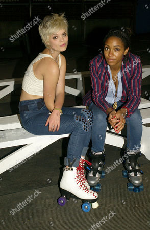 Nokia Skate Almighty - Vip Launch Night South Bank London Pixie Geldof and Remi Nicole