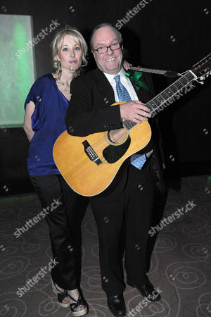 The Macmillan Cancer Supports Parliamentary Palace of Varieties at the Intercontinental London Park Lane Clare Kerr with Her Father Michael Ancram