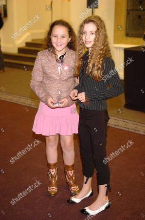 Nigella Lawson's Daughters Cosima Diamond & Pheobe Saatchi (r)