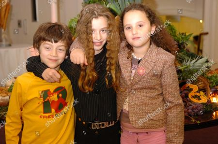 Nigella Lawson's Children Bruno Cosima Diamond & Pheobe Saatchi (r)