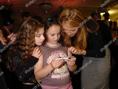 Cat Deeley with Cosima Diamond & Pheobe Saatchi (c)