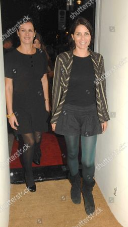 Party to Open Carine Gilson Lingerie Couture Shop in Lowndes Street Belgravia London Miranda Davis & Sadie Frost