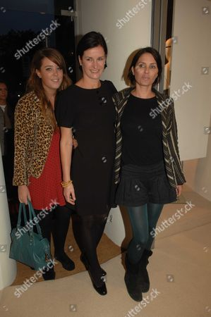 Party to Open Carine Gilson Lingerie Couture Shop in Lowndes Street Belgravia London Sadie Frost Miranda Davis Her Daughter (l) & Sadie Frost