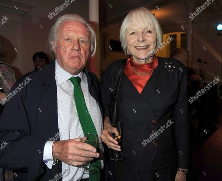 Past Imperfect Book Launch Party at Cadogan Hall Sloane Terrace London John Julius Norwich with His Wife