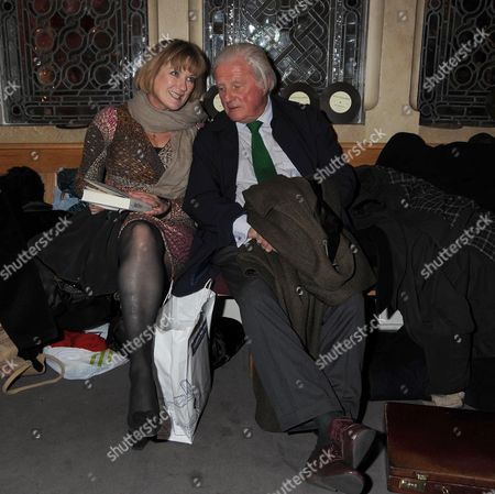 Past Imperfect Book Launch Party at Cadogan Hall Sloane Terrace London Sue Crewe & John Julius Norwich