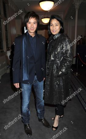 Past Imperfect Book Launch Party at Cadogan Hall Sloane Terrace London Andy & Patti Wong