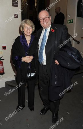 Past Imperfect Book Launch Party at Cadogan Hall Sloane Terrace London Michael Ancram with His Wife Jane Fitzalan-howard