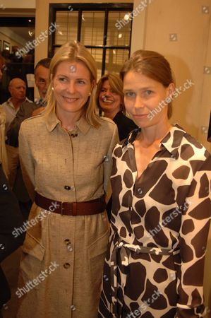 Viscountess Serena Linley with Her Sister-in-law Lady Sarah Chatto