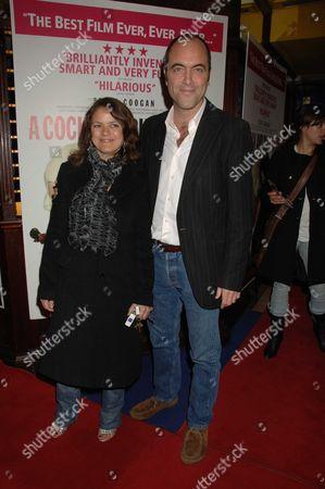 The Uk Premiere of A Cock & Bull Story at Cineworld Cinemas Haymarket London James & Sonia Nesbitt