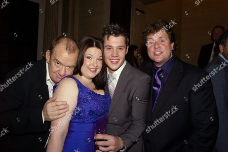 Press Night Afterparty For 'Hairspray' at the Bloomsbury Ballroom Victoria House Bloomsbury Mel Smith Leanne Jones Ben James-ellis and Michael Ball