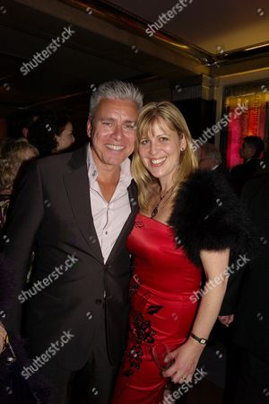 Stock Image of Press Night Afterparty For 'Hairspray' at the Bloomsbury Ballroom Victoria House Bloomsbury David Ian with His Wife Tracey