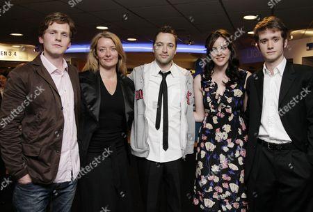 Preview Screening of 'Cashback' at the Odeon Covent Garden Sean Evans Lene Bausager Director Sean Ellis Michelle Ryan and Sean Biggerstaff
