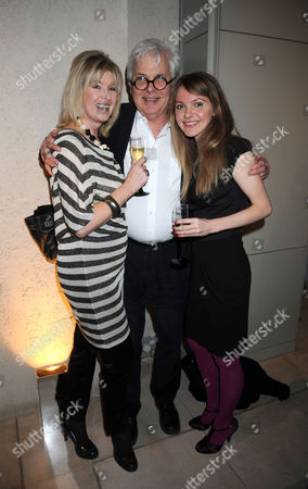 Skin & Bones Private View at Somerset House Julia Somerville & Sir Jeremy Dixon & Her Daughter