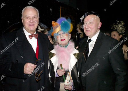 Private View For 'Hats: an Anthology by Stephen Jones' at the V&a Cromwell Road Manolo Blahnik Anna Piaggi and Stephen Jones