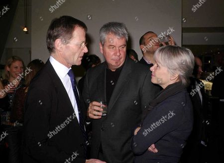 Stock Picture of Private View at the Serpentine Gallery and Party at the River Cafe Sir Nicholas Serota with His Wife Lady Serota (teresa Gleadowe) and Jack Shear