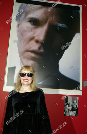 Private View of 'Andy Warhol: Other Voices Other Rooms' at the Hayward Gallery Southbank Bibbe Hansen