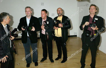 Private View of 'Andy Warhol: Other Voices Other Rooms' at the Hayward Gallery Southbank James Peltekian Dominic O'neil John Furniss Richard Young and Dafydd Jones