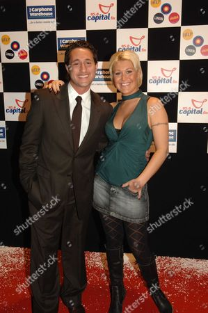 Rock On! Xmas Party in Aid of Capital Radio's Help A London Child at the Trocadero Centre Antony Costa and Jo O'meara