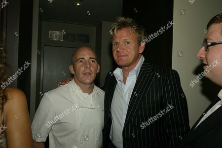 Celebrity Screening of the Film 'No Reservations' at the Curzon Cinema Mayfair and Afterparty at Boxwood Cafe Knightsbridge Gordon Ramsay and Stuart Gillies