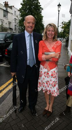 Stock Picture of Annual Garden Party Carlyle Square Chelsea Nick George Lady Marsha Fitzalan-howard